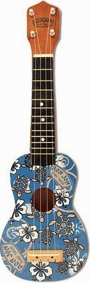 Ron Jon Surf Shack Soprano (It might be a cheap old piece of but I think they look pretty hip and I would gladly invite one to Ukulele Corner) --- https://www.pinterest.com/lardyfatboy/