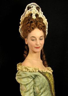 Ozora Nazo: Fontange Hairstyle - A fashionable hairstyle from the late 17th century.