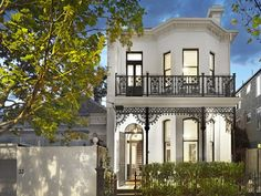 4 bedroom, 3 bathroom house in 35 Davis Avenue, South Yarra VIC 3141 sold on View listing details on Domain Terrace House Exterior, Townhouse Exterior, House Paint Exterior, Victorian Townhouse, Victorian Style Homes, Victorian Terrace, Australian Architecture, Australian Homes, Melbourne Architecture