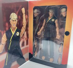Johnny Lawrence The Karate Kid 6 Inch Action Figure Cobra Kai Fully Posable New 806810251430 | eBay Ebay Auction, Karate, Kai, Action Figures, Chicken