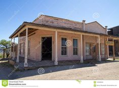 Old Wild West Town Movie Set In Arizona Editorial Photography - Image of dilapidated, desert: 120308552 Image Photography, Editorial Photography, West Town, Western Movies, Wild West, Movies And Tv Shows, Arizona, Stage, Outdoor Structures
