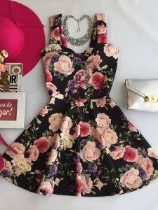 Vestido - Estação Store Teenage Girl Outfits, Girly Outfits, Cool Outfits, Summer Outfits, Fashion Outfits, Cute Vintage Outfits, Dress For Girl Child, Hippy Fashion, Blush Prom Dress