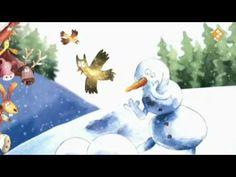 een sneeuwman met een plan