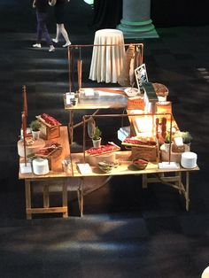 Old Billingsgate Fish, Charcuterie and Roast Beef Station by Alison Price & Company