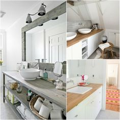 plan de travail salle de bain en bois massif avec meubles avec espaces de rangement Healthy Snacks For Kids, Healthy Dinner Recipes, Nutrition And Dietetics, Weight Loss Snacks, Dinners For Kids, Double Vanity, Bathroom, Styles, Kho Samui