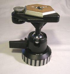 Heavy Duty Bogen Manfrotto 3055 Tripod Ball Head Mod 168 W/ Quick Release Plate  #Manfrotto