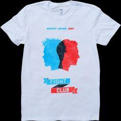 Tribute to Fight Club Mens Tshirt T Shirt | eBay