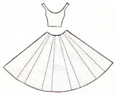dress template for the card by myra