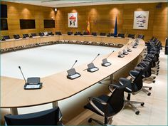Lobby Interior, Office Interior Design, Office Interiors, Parliament Of India, European Parliament, Round Conference Table, Conference Room, Luxury Office, Floor Design