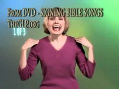 Signing Bible Songs Part 1 - Introduction for Babies or Children, Christian Sign Language Songs Sign Language Songs, Sign Language Interpreter, Learn Sign Language, Childrens Bible Songs, Bible Songs For Kids, Children Christian Songs, Kids Praise Songs, Church Songs, British Sign Language
