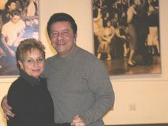 Arlene Sullivan and Kenny Rossi, American Bandstand Regulars and dancers.