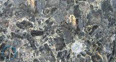 Volga Blue granite - countertop