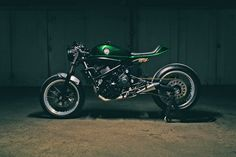 Accurate Description - Kawasaki Vulcan Cafe Racer via returnofthecaferacers.com