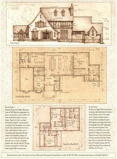 House 335, A Tudor/Storybook Luxury Home by Built4ever.deviantart.com on @deviantART