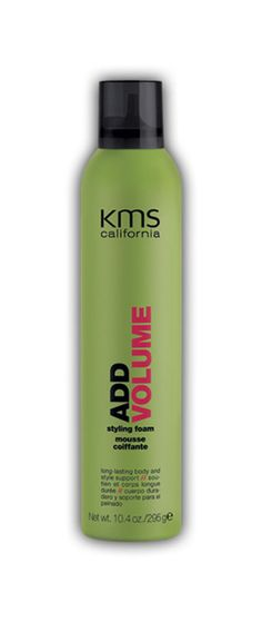 KMS California Add Volume Styling Foam mousse 10.4 oz / 295 g body support #KMS