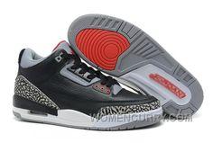 "de70715496c379 Air Jordan 3 ""Black Cement"" Black Varsity Red-Cement Grey For Sale Online  Gi4zjpK"