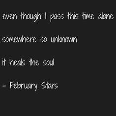 February Stars Foo Fighters
