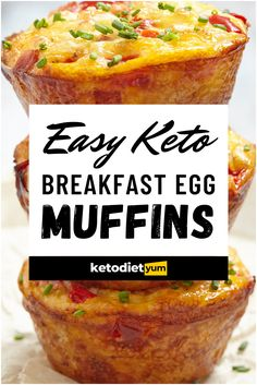 Keto Egg Muffins — Best Low-Carb Breakfast Muffins