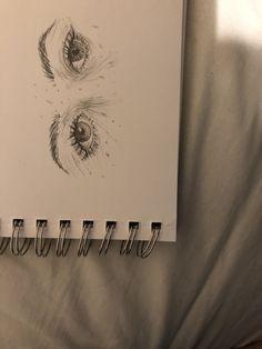 Amazing Learn To Draw Eyes Ideas. Astounding Learn To Draw Eyes Ideas. Realistic Eye Drawing, Drawing Tips, Drawing Drawing, Art Drawings Sketches, Cool Drawings, Eye Drawings, Arte Sketchbook, Art Hoe, Beautiful Drawings