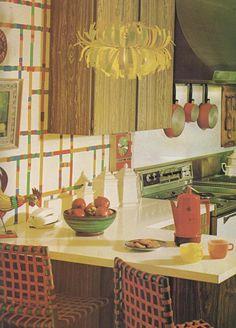 1970s Architectural Digest Kitchen | Architectural digest, 1970s ...