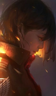 Mikasa Ackerman - Attack on Titan - Image - Zerochan Anime Image Board Armin, Levi Mikasa, Attack On Titan Season, Attack On Titan Anime, Kawaii Anime Girl, Anime Art Girl, Tous Les Anime, Wie Zeichnet Man Manga, L'art Du Portrait