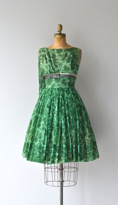 Isle of Wight dress vintage 1960s dress floral by DearGolden
