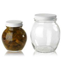 GLOBE JARS - GLASS BOTTLES