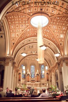 St. James Cathedral Seattle | Kaylee Eylander Photography | Seattle wedding photographer