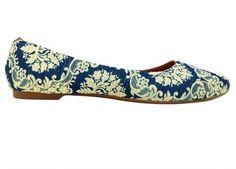 sapatilha luxo azulejo com acolchoado interno frete grátis