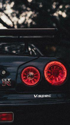 Nissan R34, Nissan Skyline Gtr, Nissan Gtr Wallpapers, Best Jdm Cars, Super Fast Cars, Jdm Wallpaper, Street Racing Cars, Pretty Cars, Tuner Cars
