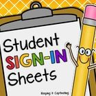 Add these Student Sign-In Sheets to your daily morning routine.  Students sign-in each morning by tracing or writing their names.  This is a great ...