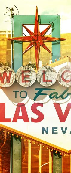 Snap a selfie next to the Vegas Welcome Sign the next time you're in the sin city! Viva Las Vegas!