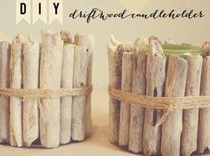 Crafty Christmas | Driftwood Candleholder | designbylulu