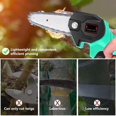 Rechargeable MINI Lithium Chainsaw -【70% OFF CYBER WEEK SALE】 – Your Fancy Deals Best Christmas Gifts, Christmas Fun, Mini Chainsaw, Electric Chainsaw, Fast And Slow, Cool Gadgets To Buy, Sale 50, Wood Cutting, Home Repair