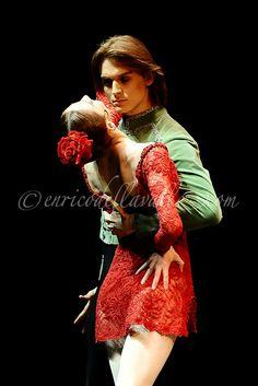 Svetlana Zakharova as Carmen  Teatro Auditorium Manzoni, Bolonia  Photographer Enrico Della Valle