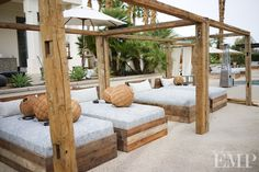 Private Estate in Coachella.  Pergolas from Found Vintage Rentals.  Photography by Studio EMP.