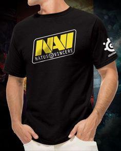 Navi Dota 2 hero t shirts for boys Natus Vincere CS gaming tee-