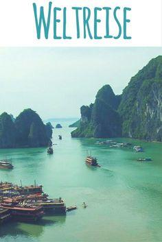 Ha Long Bay / Vịnh Hạ Long (Vietnam) / Lies auf meinem Reiseblog: 1 Jahr Weltreise - meine Highlights & Erfahrungen aus 14 Ländern