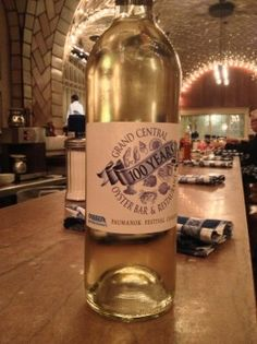Paumanok Makes Special Bottling to Celebrate Grand Central Oyster Bar's 100th Year #northfork #wine