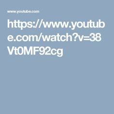 https://www.youtube.com/watch?v=38Vt0MF92cg