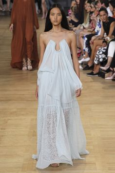 Chloé womenswear, spring/summer 2015, Paris Fashion Week