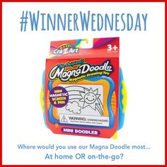 Today only, enter to #win a Magna Doodle!