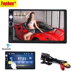 "Podofo 2 din car radio 7"" HD Player MP5 Touch Screen Digital Display Bluetooth Multimedia USB 2din Autoradio Car Backup Monitor  Price: 44.90 USD"