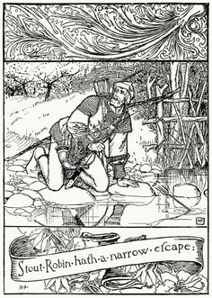 The Merry Adventures of Robin Hood, written and illustrated by Howard Pyle