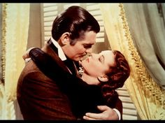 """Clark Gable and Vivien Leigh as Rhett Butler and Scarlett O' Hara in """"GONE WITH THE WIND"""" greatest love story of all time written by Margaret Mitchell Rhett Butler, Scarlett O'hara, Vivien Leigh, Clark Gable, Oscar Best Picture, Best Picture Winners, Beau Film, Margaret Mitchell, Humphrey Bogart"""