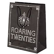 Roaring 20's Gift Bag. This party site has lots of unique party supplies, low end to high end. Props. Decorations, costumes. Very unique.