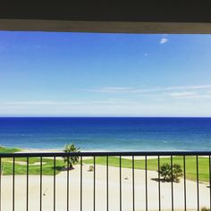 The view from an oceanfront suite at Secrets Puerto Los Cabos! This resort is perfect for honeymooners and golfers