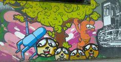 Graffiti near Tesco (Gdynia)