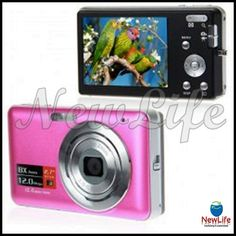 DC-E70 12.0MP 2.7'' Color LCD 8X Digital Zoom Digital Camera with TV-OUT 43,55€
