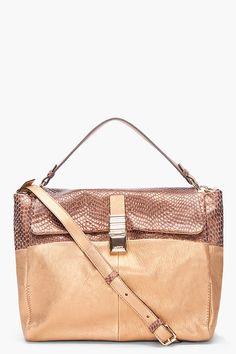 Lanvin Gold For Me Shoulder Bag